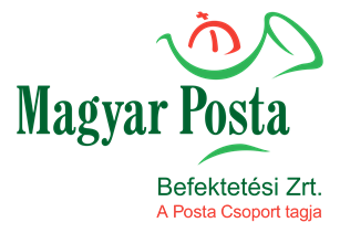 Magyar Posta Befeketetési Zrt. logó